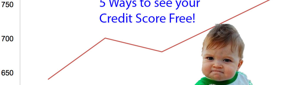 5 Ways to get a Free Credit Score